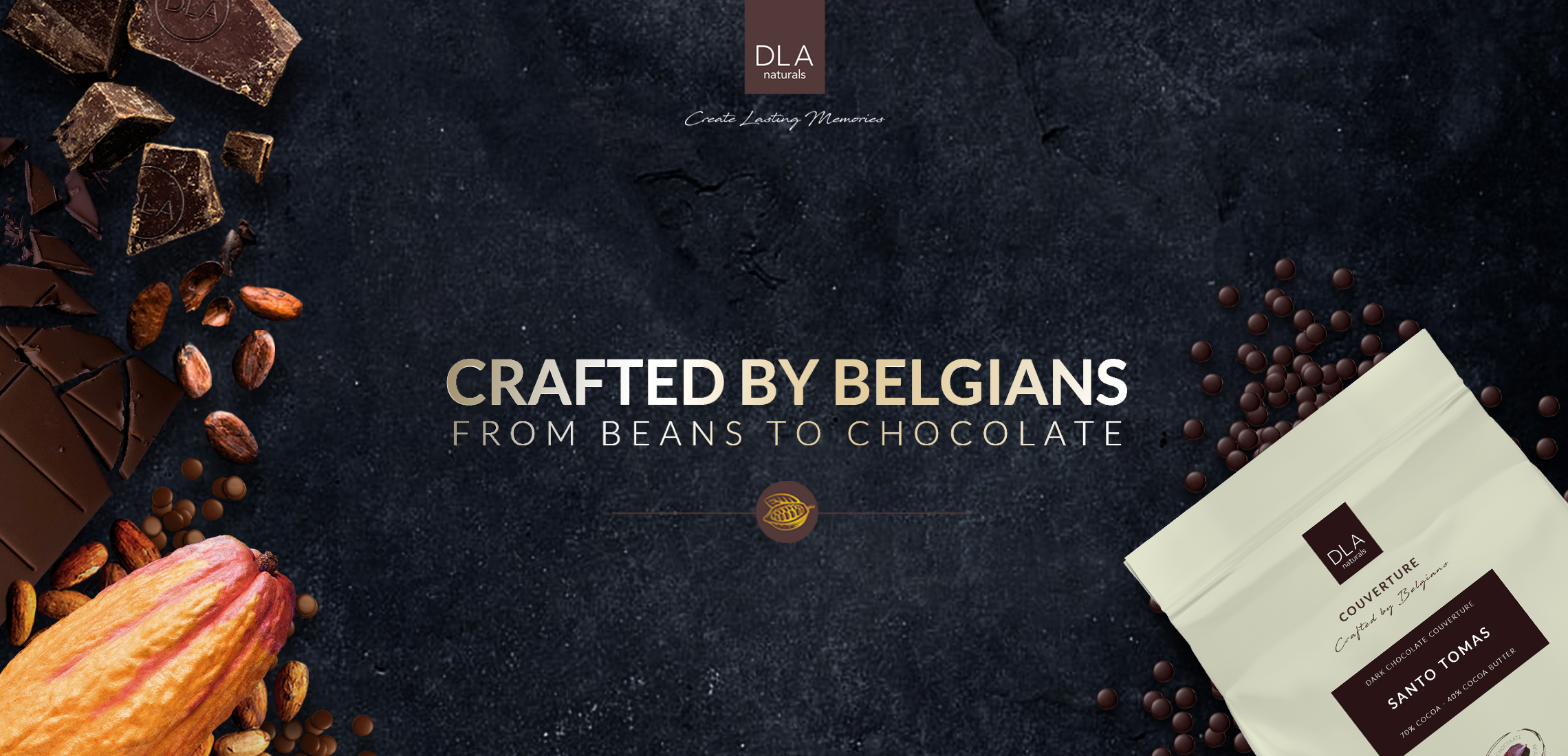 Crafted by Belgians